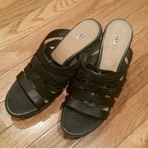UGG Sandals size 10 euc